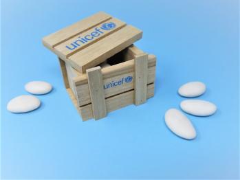 Scatolina porta confetti in legno