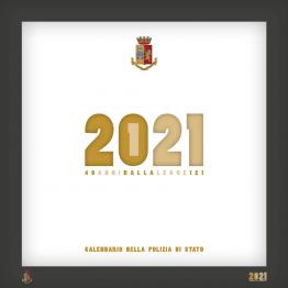 Calendario Polizia di Stato 2021 - da tavolo