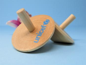 Trottola in legno