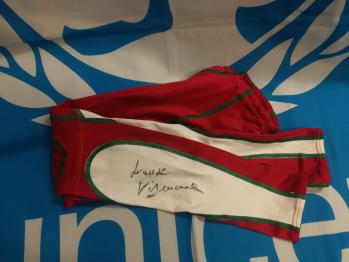 Costume rosso Lorenzo Vismara - autografato