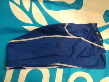 Costume blu Lorenzo Vismara - autografato